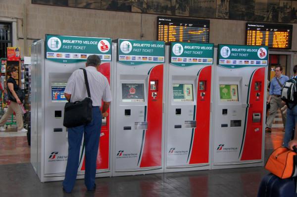 Biglietto Veloce machines - by Chris Sampson (creative commons)