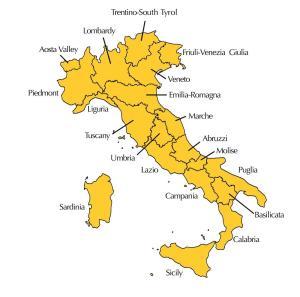 Italian Regions || creative commons image by Stephan Brunker