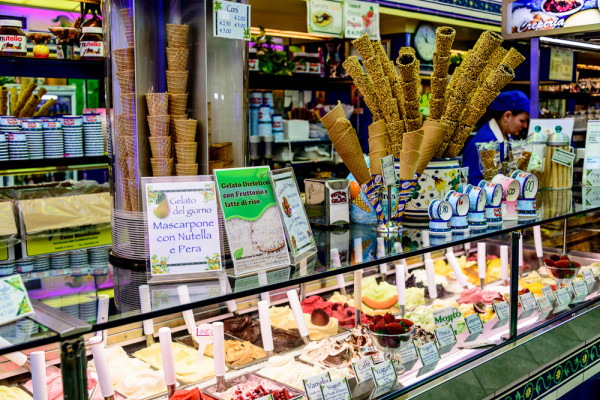 Gelato in Florence - by Craig Stanfill (creative commons)