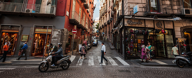 Napoli Street - by Angelo DeSantis (creative commons)