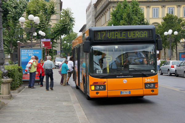 City bus in Florence | creative commons photo by Chris Sampson