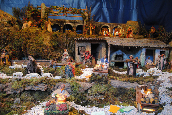 Presepio in Sicily || creative commons photo by Leandro Neumann Ciuffo