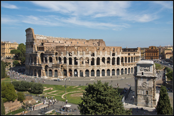 Colosseum || creative commons photo by Bert Kaufmann
