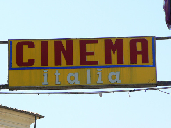 Cinema Italia || creative commons photo by Roberto Venturini
