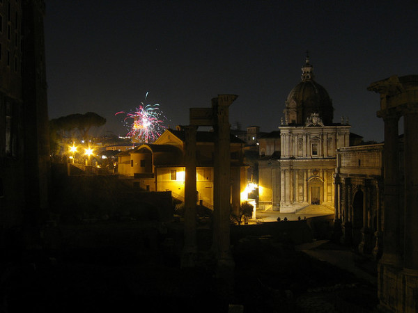 New Year's in Rome || creative commons photo by Luca Paletta