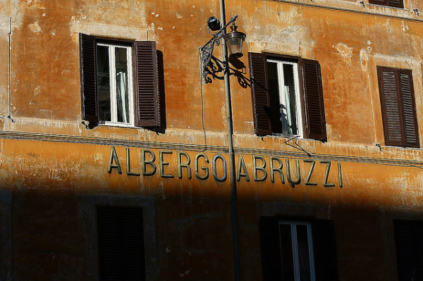 Albergo Abruzzi || creative commons photo by Bruno