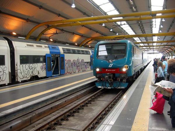Leonardo Express Train From Rome Fiumicino Airport To Creative Commons Photo By Leo Setä