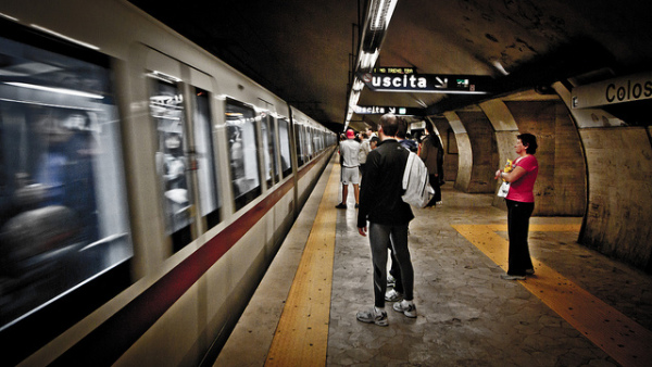 Rome Metro || creative commons photo by Nicola