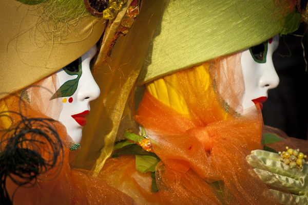 Venice Carnival || creative commons photo by Stefano Montagner