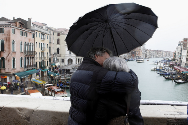Love in Venice || creative commons photo by Roberto Trm
