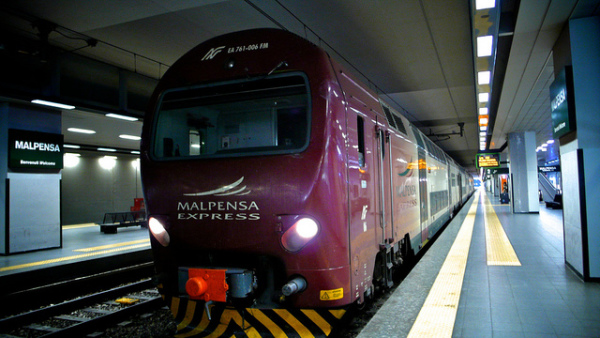 Malpensa Express || creative commons photo by ?? ??