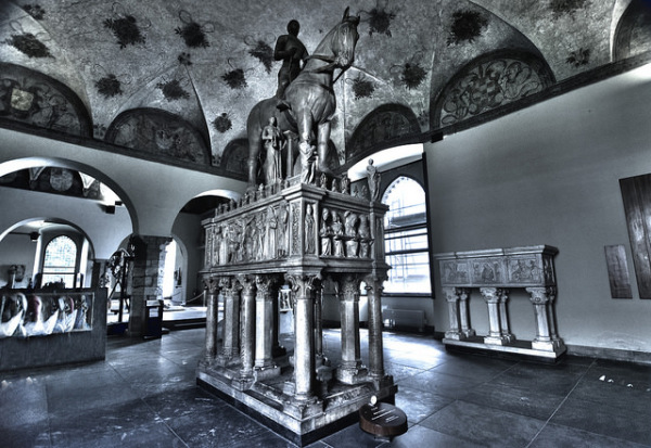 Museum of Ancient Art in Castello Sforzesco || creative commons photo by Jose Hidalgo