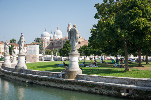 The historic center of Padua || creative commons photo by Pavlo Boyko