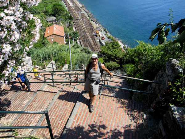 Stairs to Corniglia || creative commons photo by Karen