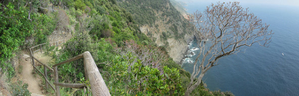 Cinque Terre trail || creative commons photo by Stuart Geiger