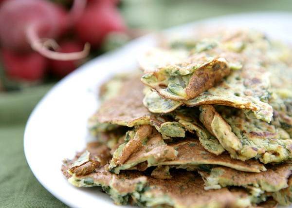 Farinata, made with chickpea flour || creative commons photo by jenni shortt