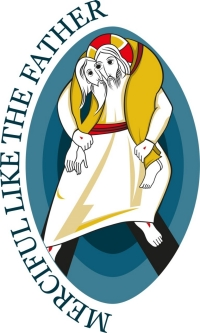 Official logo of the Holy Year of Mercy