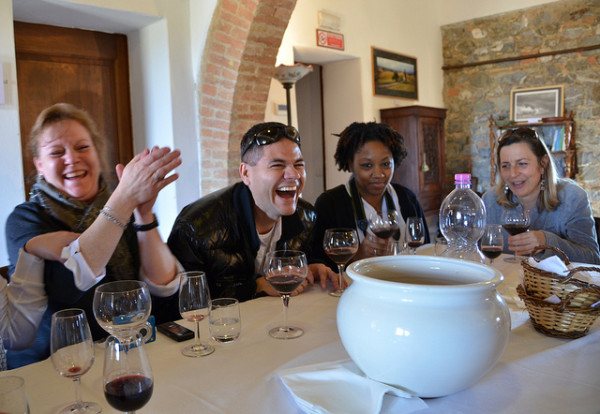 Wine tasting in Tuscany || creative commons photo by USAG Livorno PAO