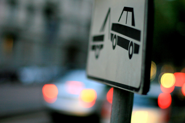 No parking in Milan || creative commons photo by Evan Blaser