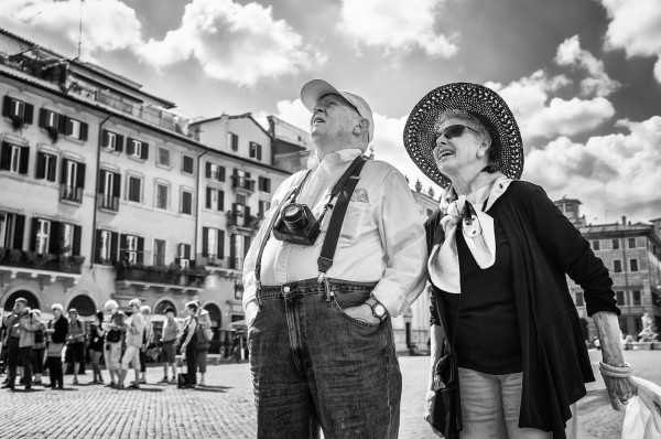 The singular joy of being a tourist in Italy    creative commons photo by Luca Sartoni