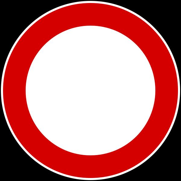 Italian ZTL sign