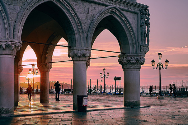 Evening in Venice || creative commons photo by Pedro Szekely