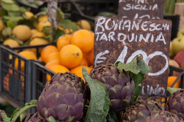 Carciofi in Rome || creative commons photo by Tim Sackton
