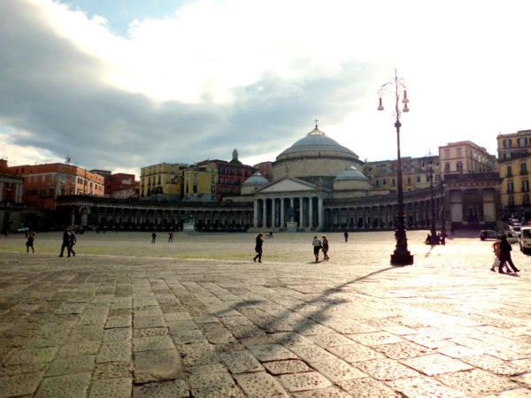 Piazza del Plebiscito in Naples || creative commons photo by valeria preci