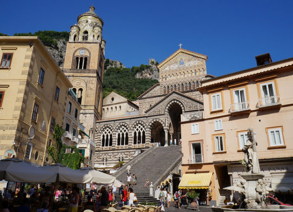 Duomo in Amalfi || creative commons photo by Leandro Neumann Ciuffo