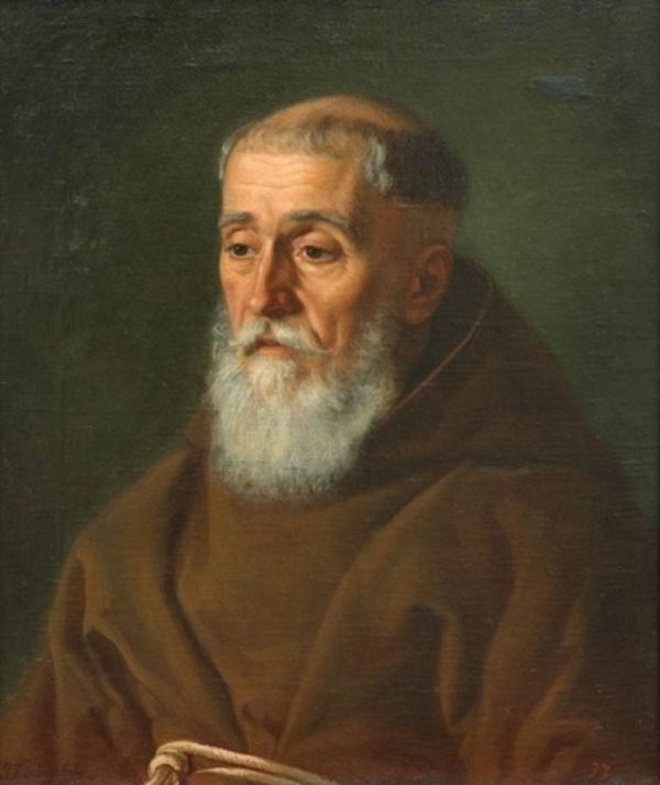 Portrait of a Capuchin, by Jan Zasiedatel
