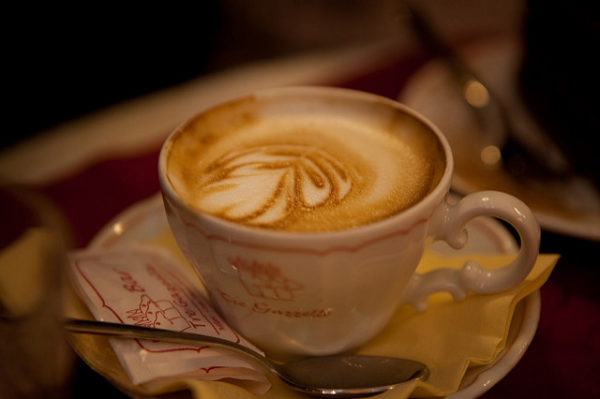 Cappuccino || creative commons photo by Billy Wirawan
