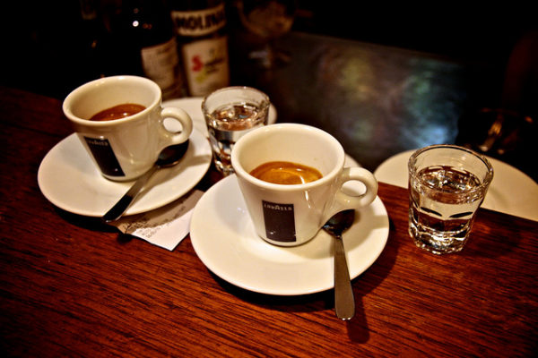Caffe corretto || creative commons photo by Takumi Yoshida