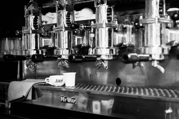 Espresso machine || creative commons photo by Jimmy G