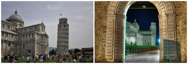 Pisa || creative commons photos by Ryan Raffa (left) & Steve Slater (right)