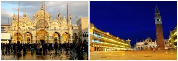 Venice || creative commons photos by Turinboy (left) & halbag (right)