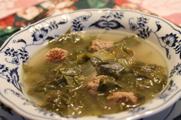Italian Wedding Soup || creative commons photo by Tom Ipri