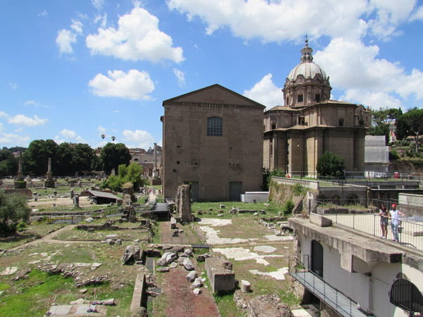 Curia Julia in Roman Forum || creative commons photo by Cezar Suceveanu