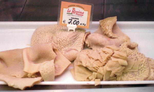 Tripe in an Italian market || public domain photo by Lucarelli
