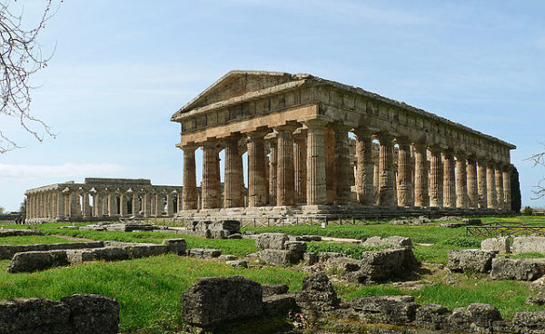 Paestum || creative commons photo by Oliver-Bonjoch