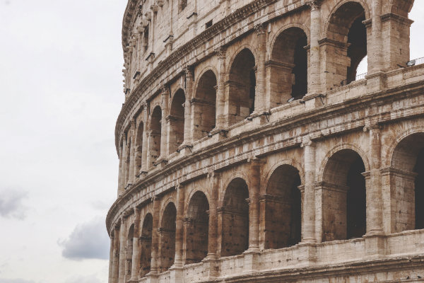 Colosseum || creative commons photo by Yoal Desurmont