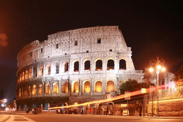Colosseum at Night || creative commons photo by Flicka