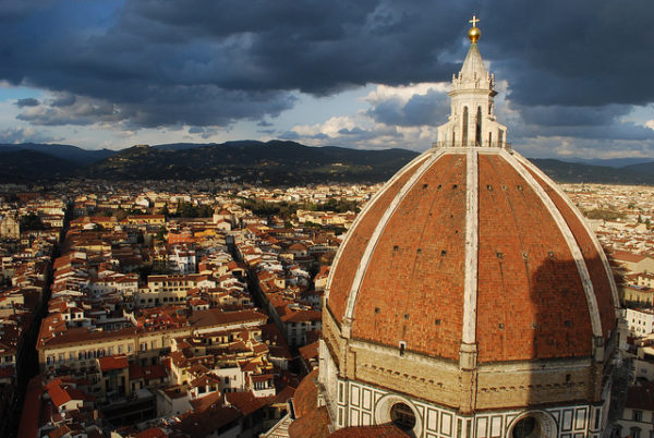 Overlooking Florence || creative commons photo by John Marino