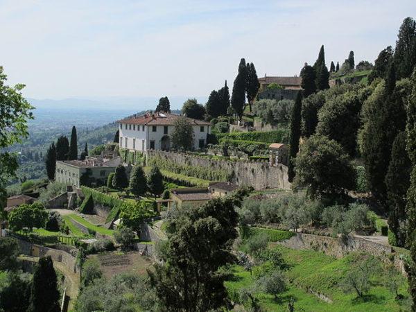 Villa Medici in Fiesole || creative commons photo by sailko