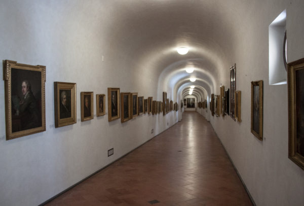 Vasari Corridor || public domain photo by Szilas