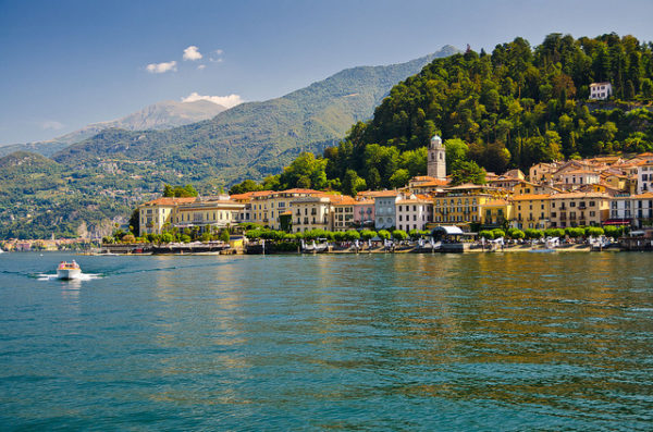 Bellagio on Lake Como || creative commons photo by Gian Luca Ponti