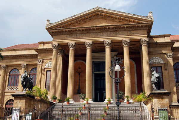 Teatro Massimo in Palermo || creative commons photo by Harvey Barrison
