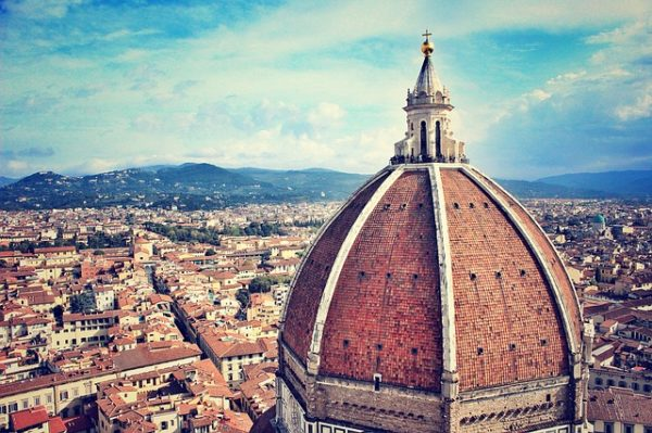 Florence from Duomo || creative commons photo by Waldo93