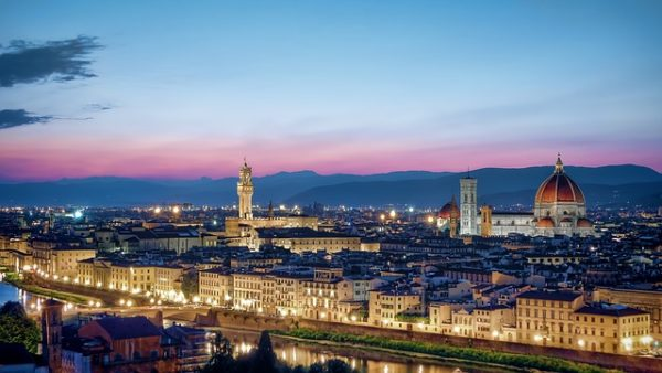 Florence skyline || creative commons photo by MustangJoe