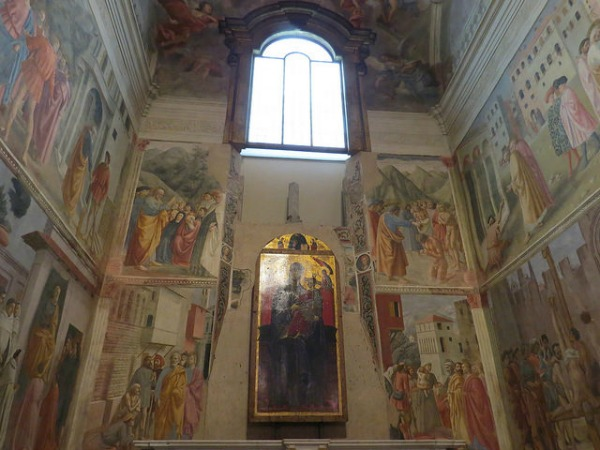 Brancacci Chapel frescoes || creative commons photo by Simone Ramella