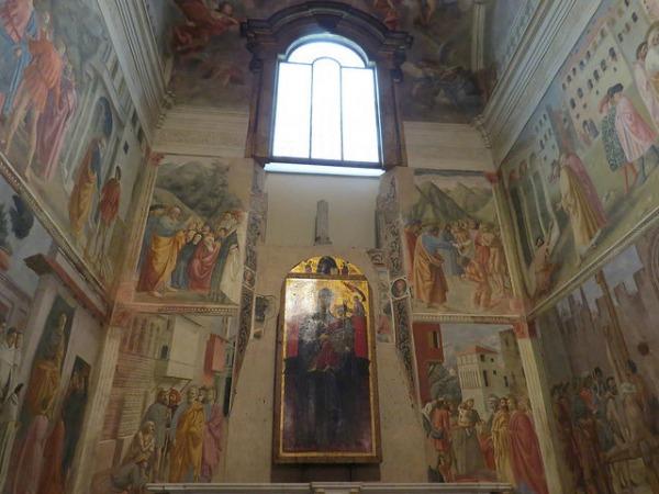 Brancacci Chapel frescoes || creative commons photo by Simone Ramella